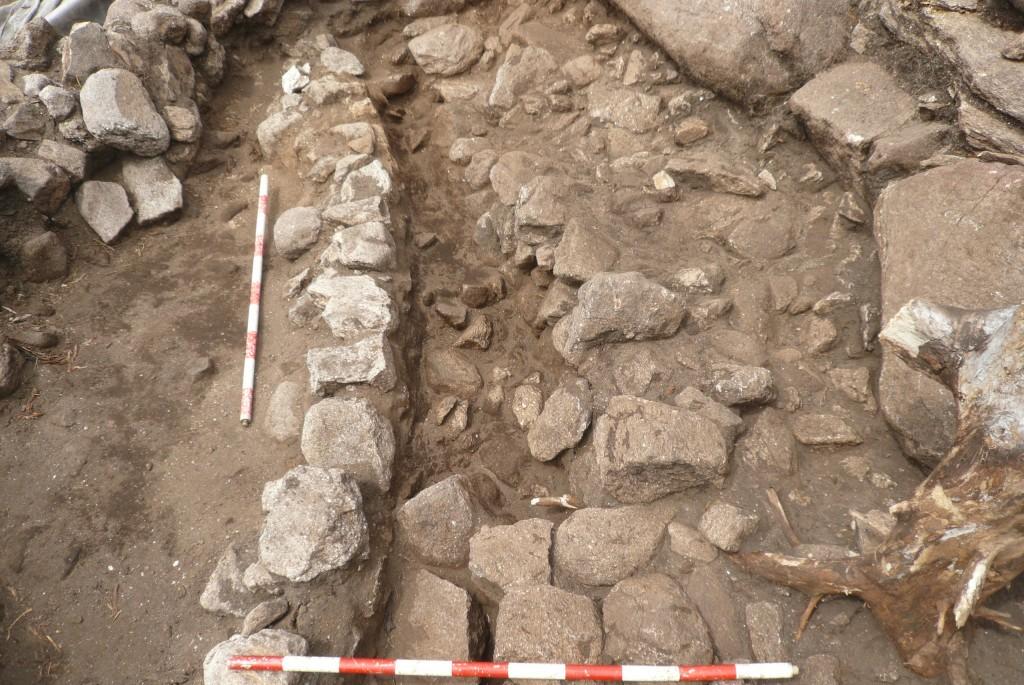 Detalle de muros na zona norte