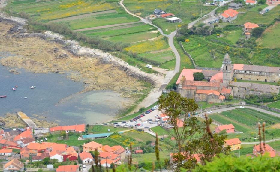 Mosteiro Oia, Arrabal e Camboa. Rías Baixas. Galicia