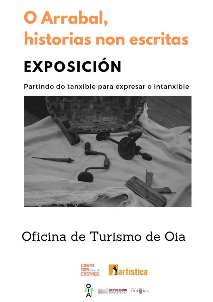 exposición obxectos antiguos Oia Arrabal